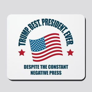 Trump Best Pres Mousepad